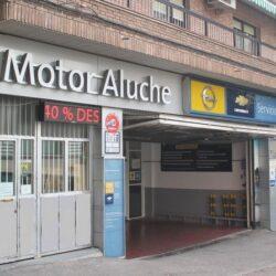 taller de coches motor Aluche