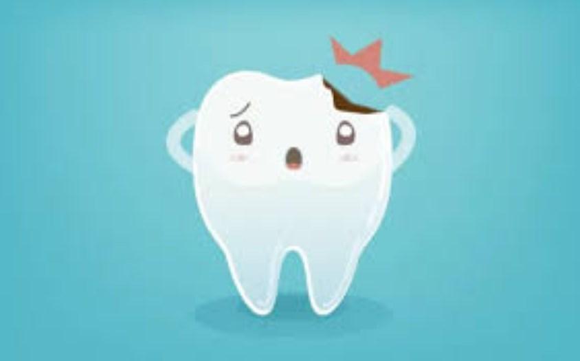 ¡se me ha roto un diente!