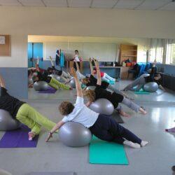 clase de pilates con claudia Bedacarratz