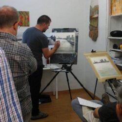 clases de pintura escuela de arte lapices arte y más