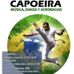 Sahra Ardah  Clases de Capoeira