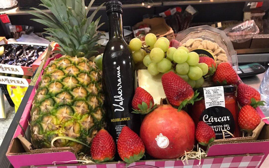 Cestas de frutas para el Día de la Madre