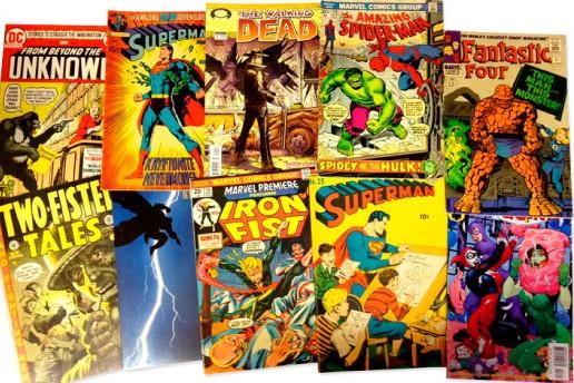 ¿Dónde puedo comprar comics segunda mano en Madrid?